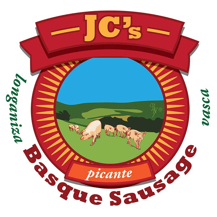JC's Basque Sausage Picante (Longaniza Vasca) final