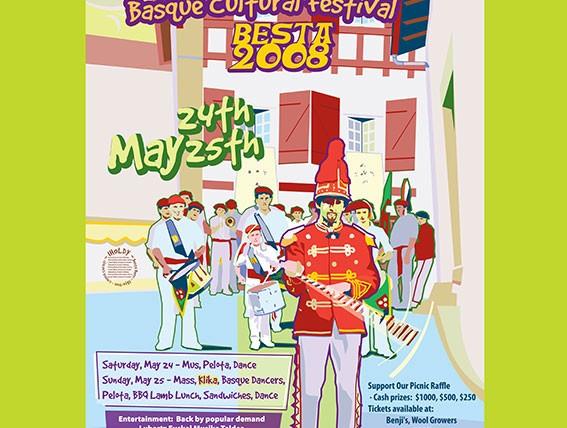 Basque Festival Poster 2008