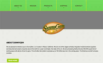 SunnyGem website
