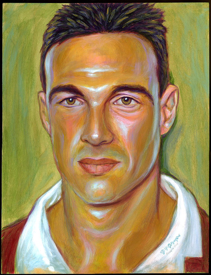 Basque rugby player Nicolas Brusque