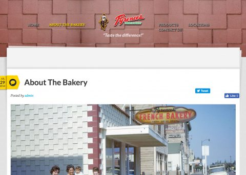 Pyrenees French Bakery website 2
